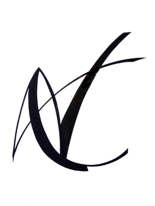 CW Loth: Zeichen - Tuschezeichnung